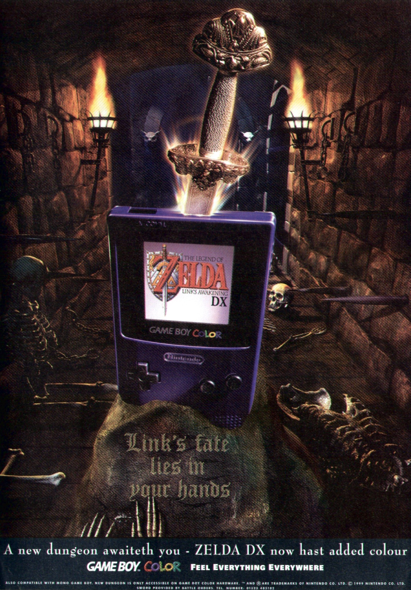 Gameboy color ad - The