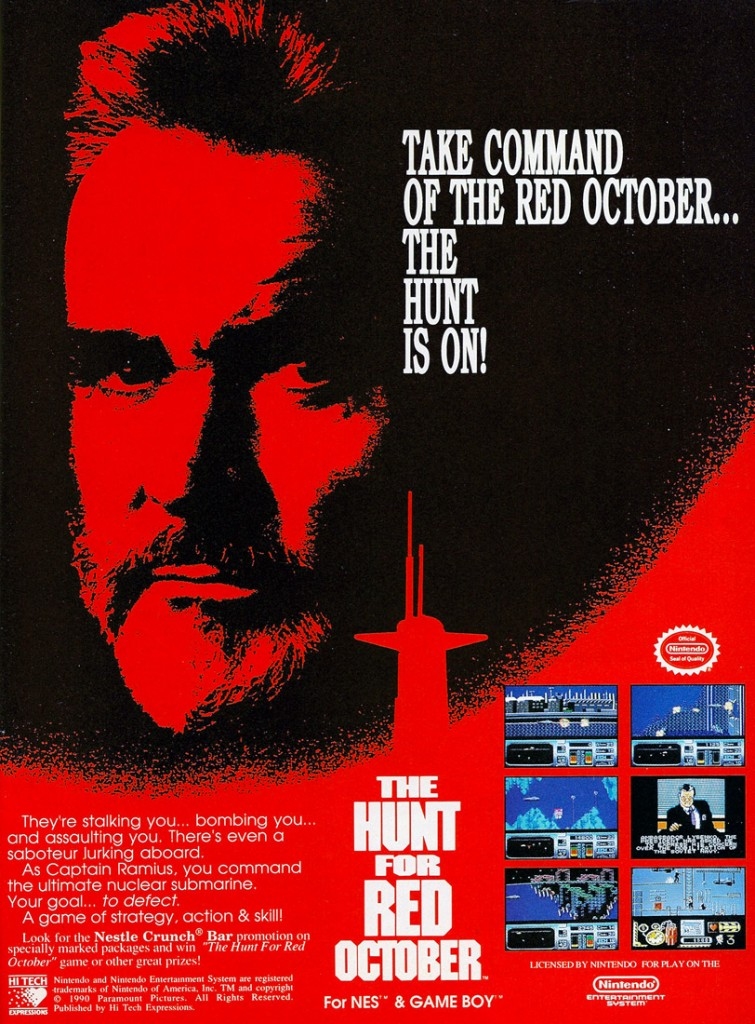 an analysis of the movie adaptation the hunt for red october by tom clancy Start your 48-hour free trial to unlock this 16-page the hunt for red october study guide and get instant access to the following: summary themes characters critical essays analysis 13 homework help questions with expert answers you'll also get access to more than 30,000 additional guides and 300,000 homework help questions answered by our experts.