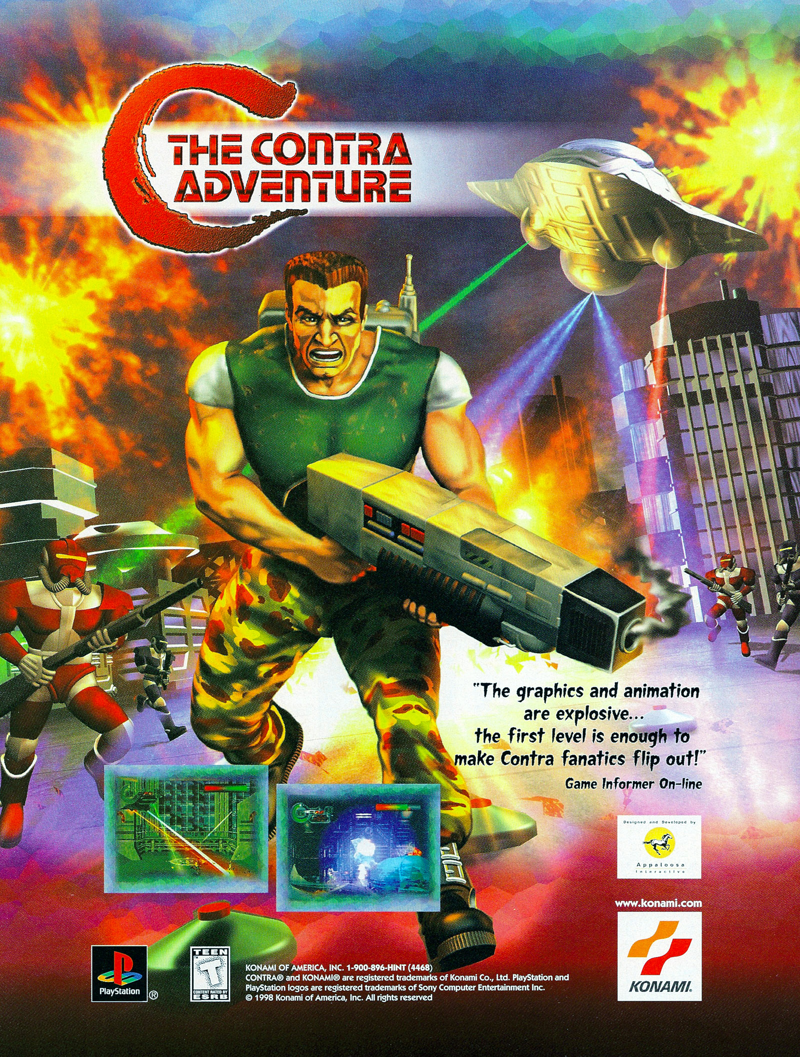 Video Game Ad of the Day: C: The Contra Adventure