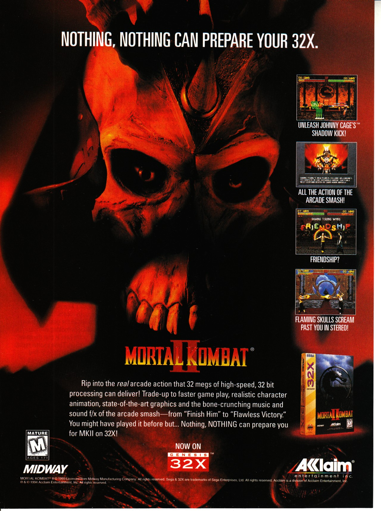 Video Game Ad Of The Day Mortal Kombat Ii