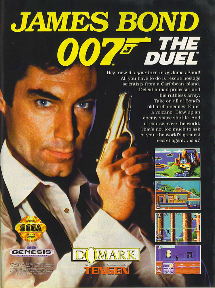 Les Incontournables de la Mega Drive - Page 2 James-Bond-007-The-Duel