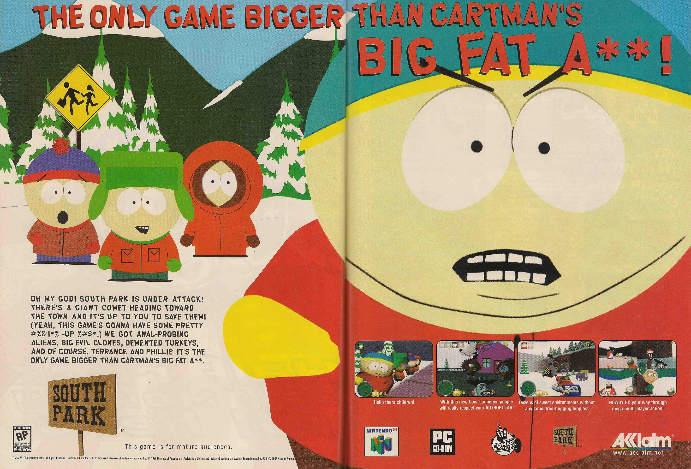 free south park game