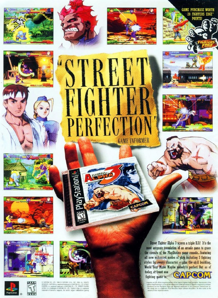 Street Fighter Alpha 3 PSX USA