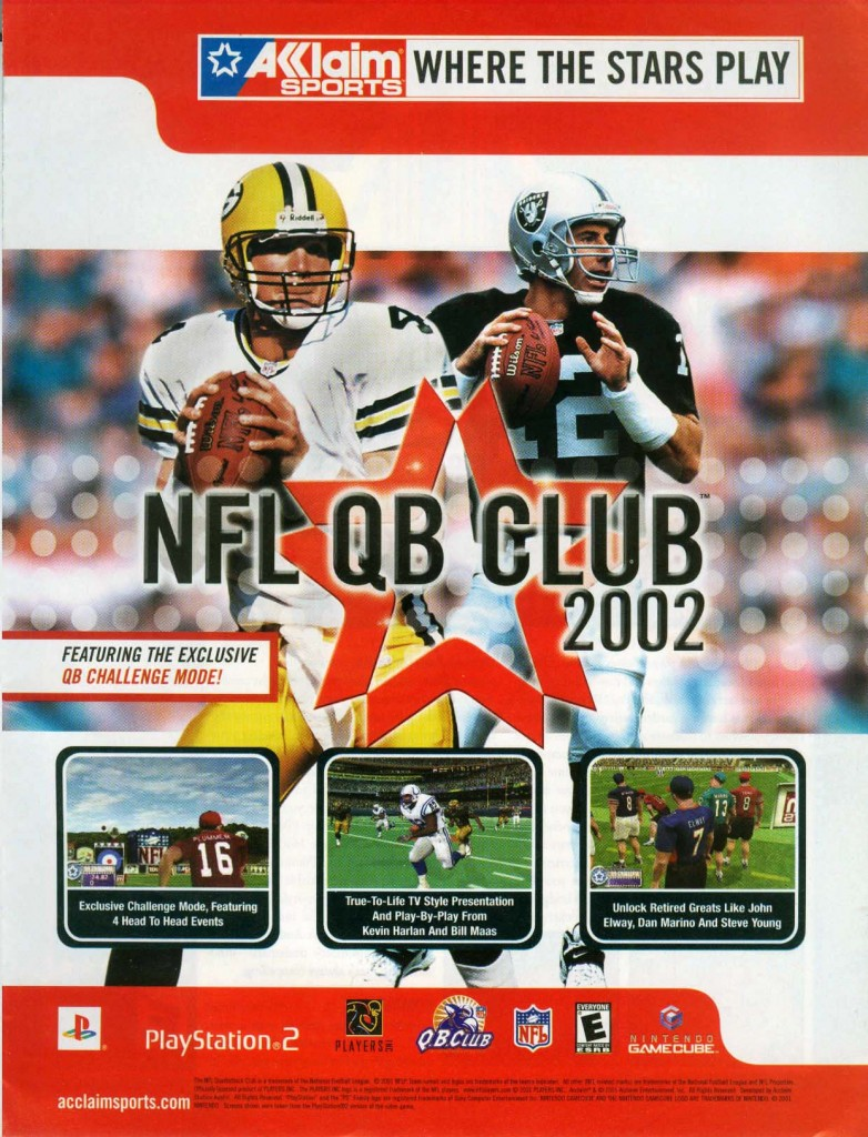 NFL Quarterback Club 2002-1