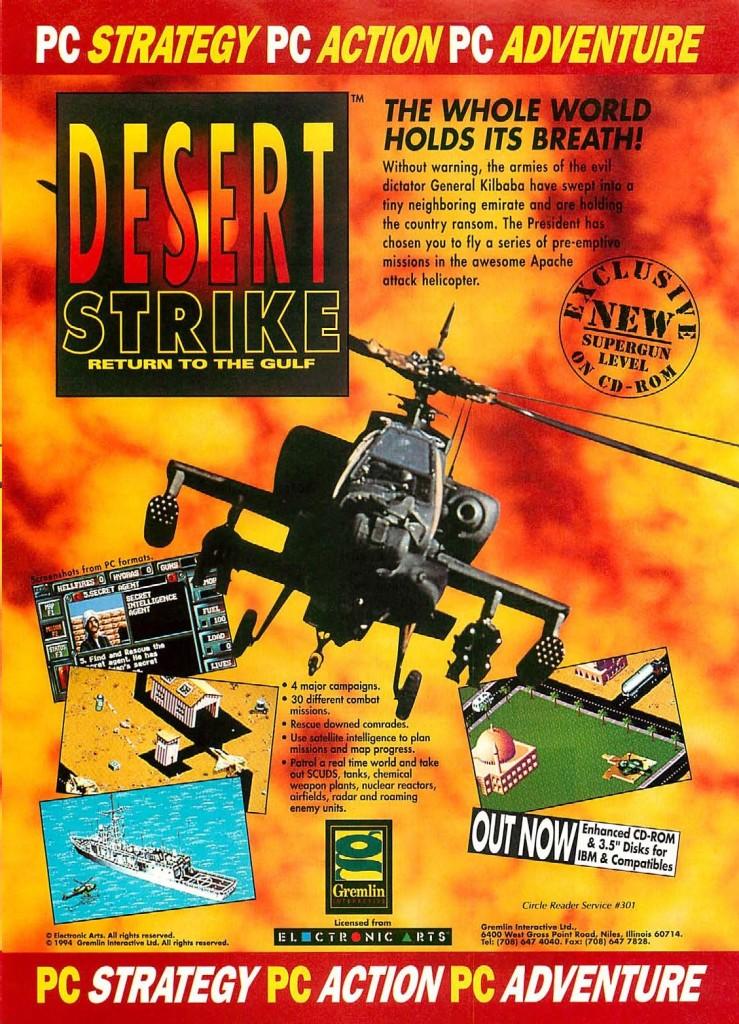 Desert Strike PC