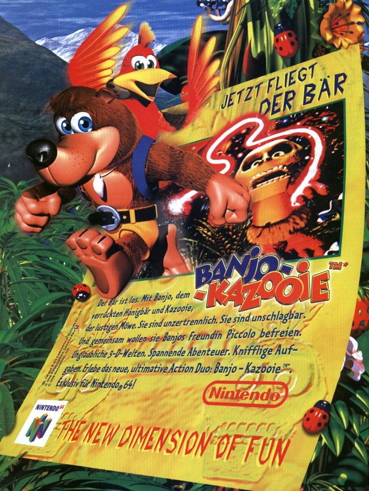 Banjo Kazooie DE
