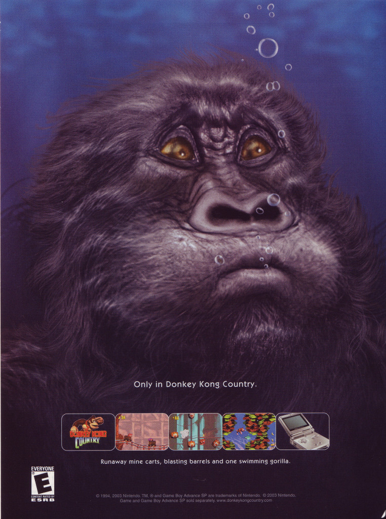 Donkey Kong Country GBA