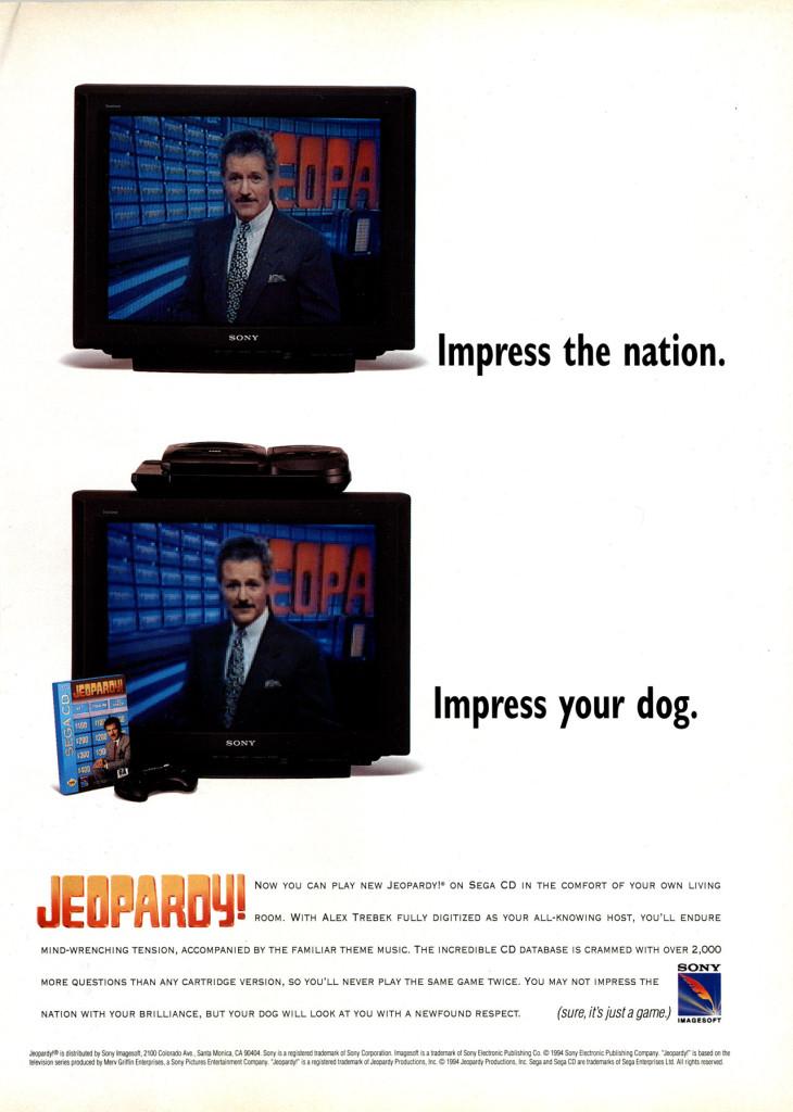 Jeopardy CD