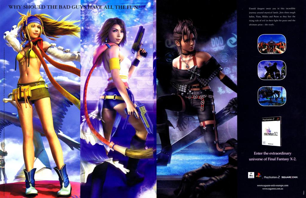 Final Fantasy X-2 AU