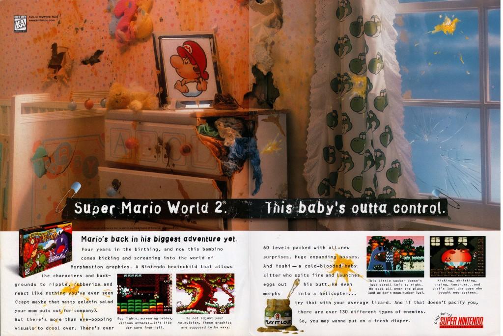 Super Mario World 2 Yoshi's Island-1