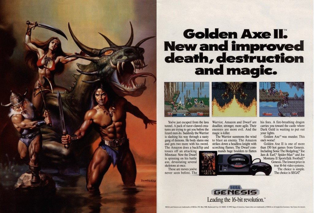 Golden Axe II