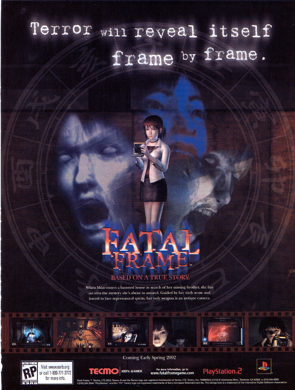 Video Game Ad of the Day: Fatal Frame (Project Zero)