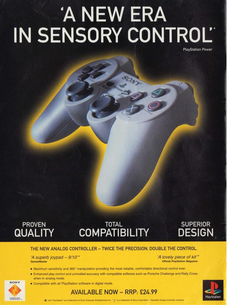 PlayStation Analog Controller UK
